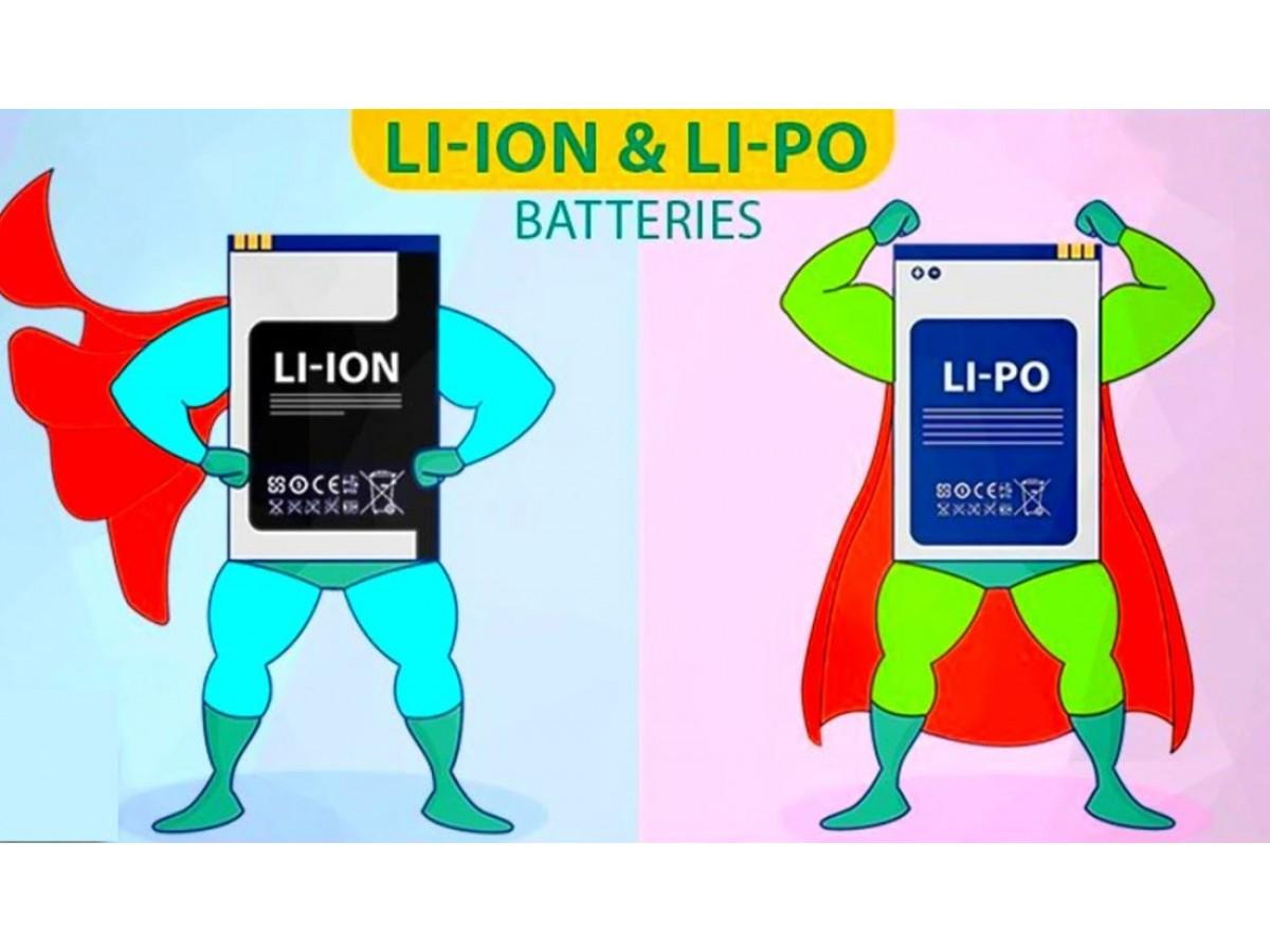 Разница литий ионного и литий полимерного аккумулятора
