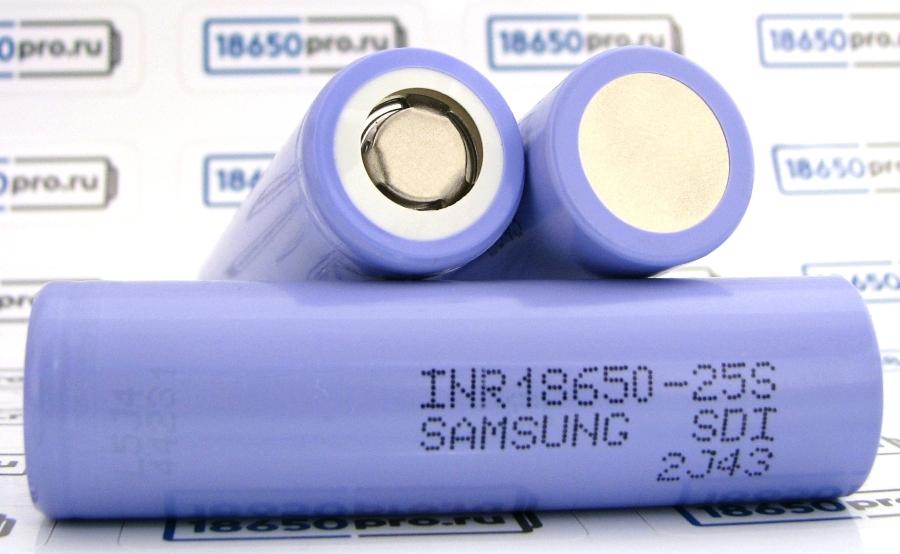 Аккумулятор Samsung 25Sна 2500 мА*ч  фото