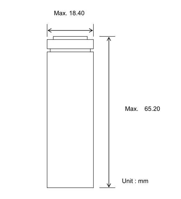 Li-ion; 18650; Dimensions; Размеры; Samsung; 33G;
