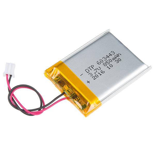Lithium Ion Battery — 850mAh фото